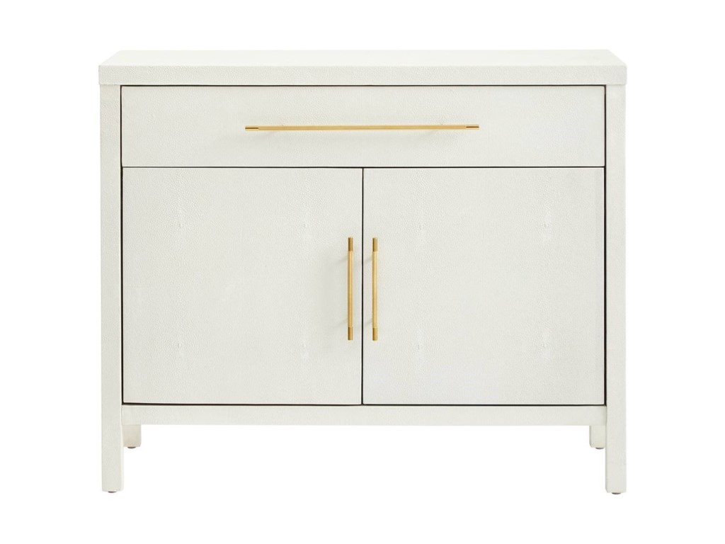 Panavista faux shagreen archetype bachelors cabinet by stanley furniture