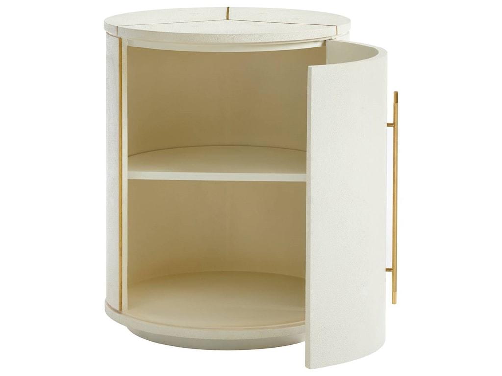 Stanley Furniture PanavistaSundial Drum Table