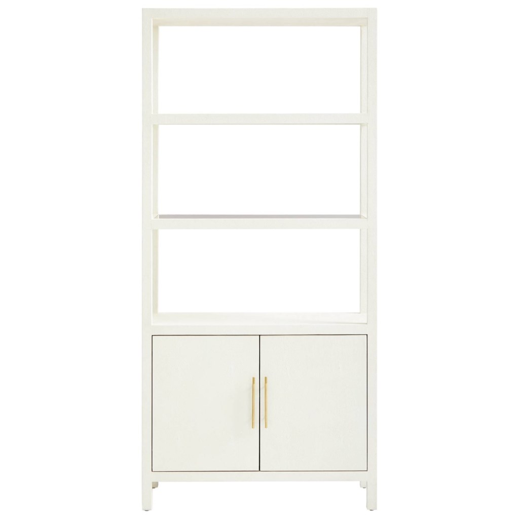 Stanley Furniture Panavista 704 65 18 Archetype Bookcase With Glass