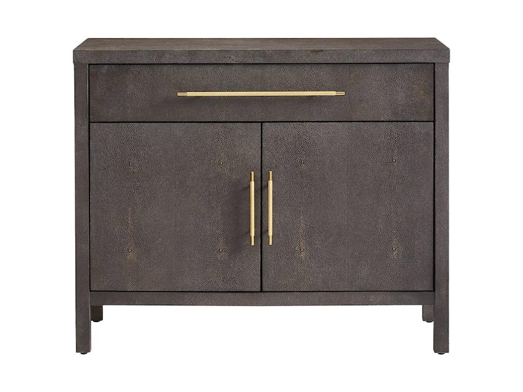Stanley furniture panavista faux shagreen archetype bachelors cabinet
