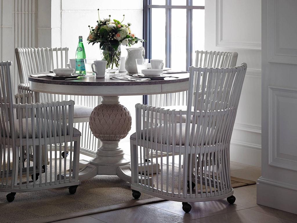 Stanley Furniture PreserveArtichoke Pedestal Table