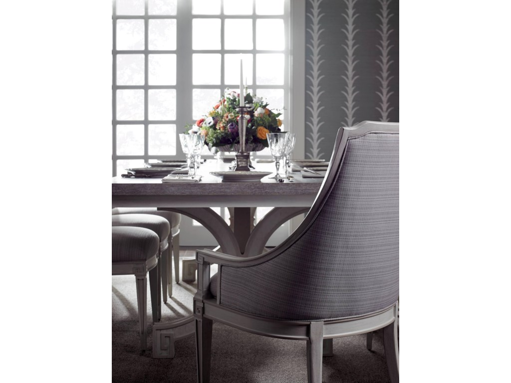 Stanley Furniture Preserve9-Piece St. Helena Trestle Table Set