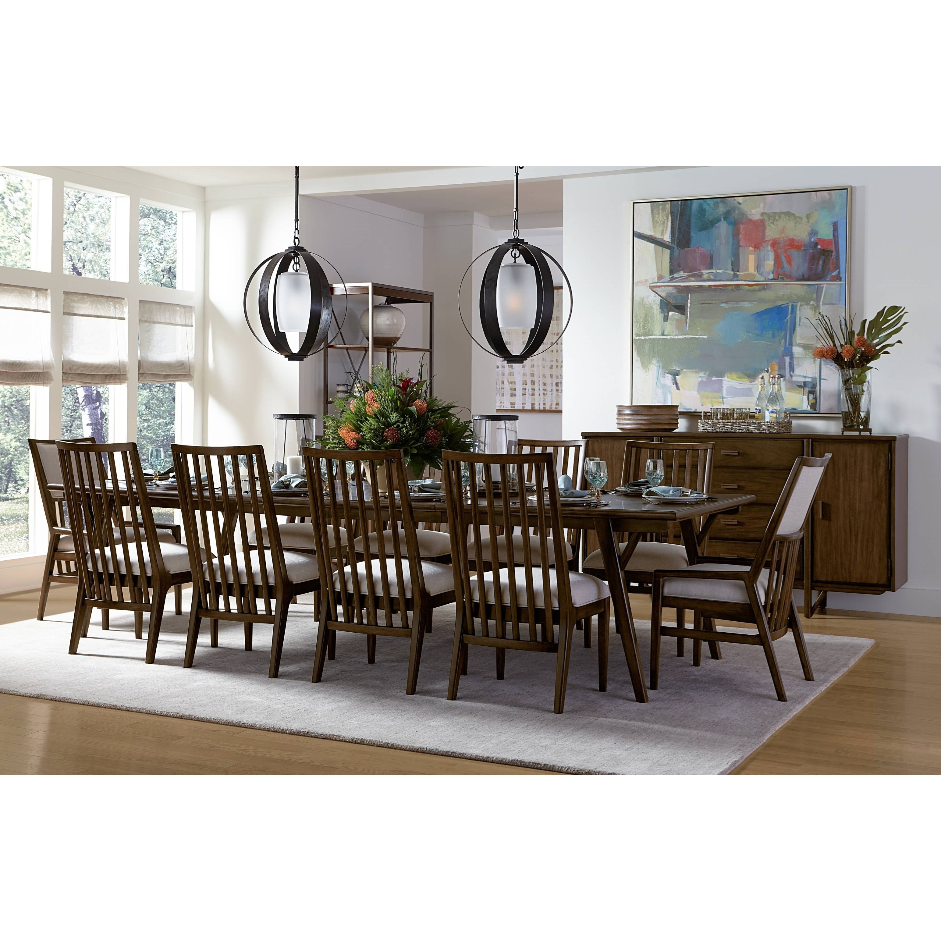 Delightful Stanley Furniture Santa Clara Formal Dining Room Group