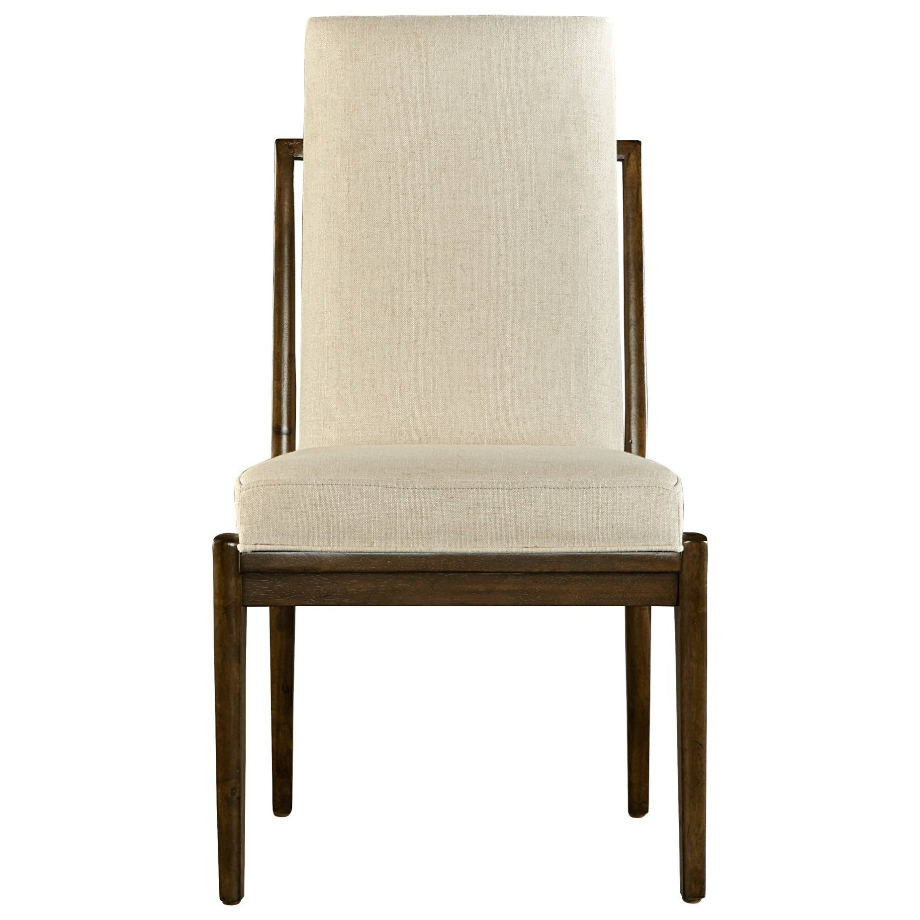 Awesome Stanley Furniture Santa Clara Upholstered Host Chair   Becker Furniture  World   Dining Side Chairs