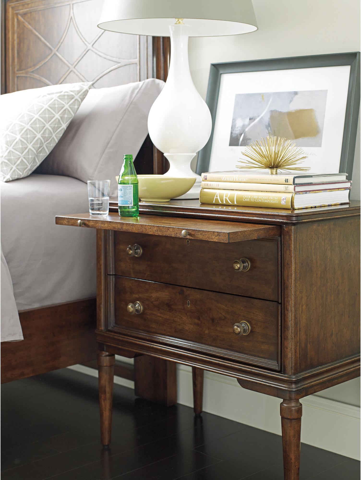 ... Stanley Furniture The Classic Portfolio   VintageNightstand ...