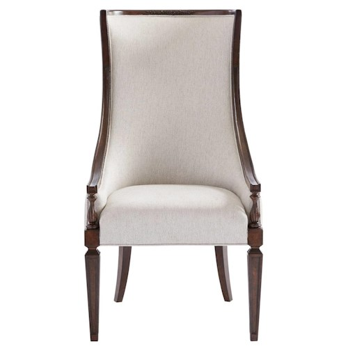 Stanley Furniture Villa Couture Transitional Matteo Host Chair