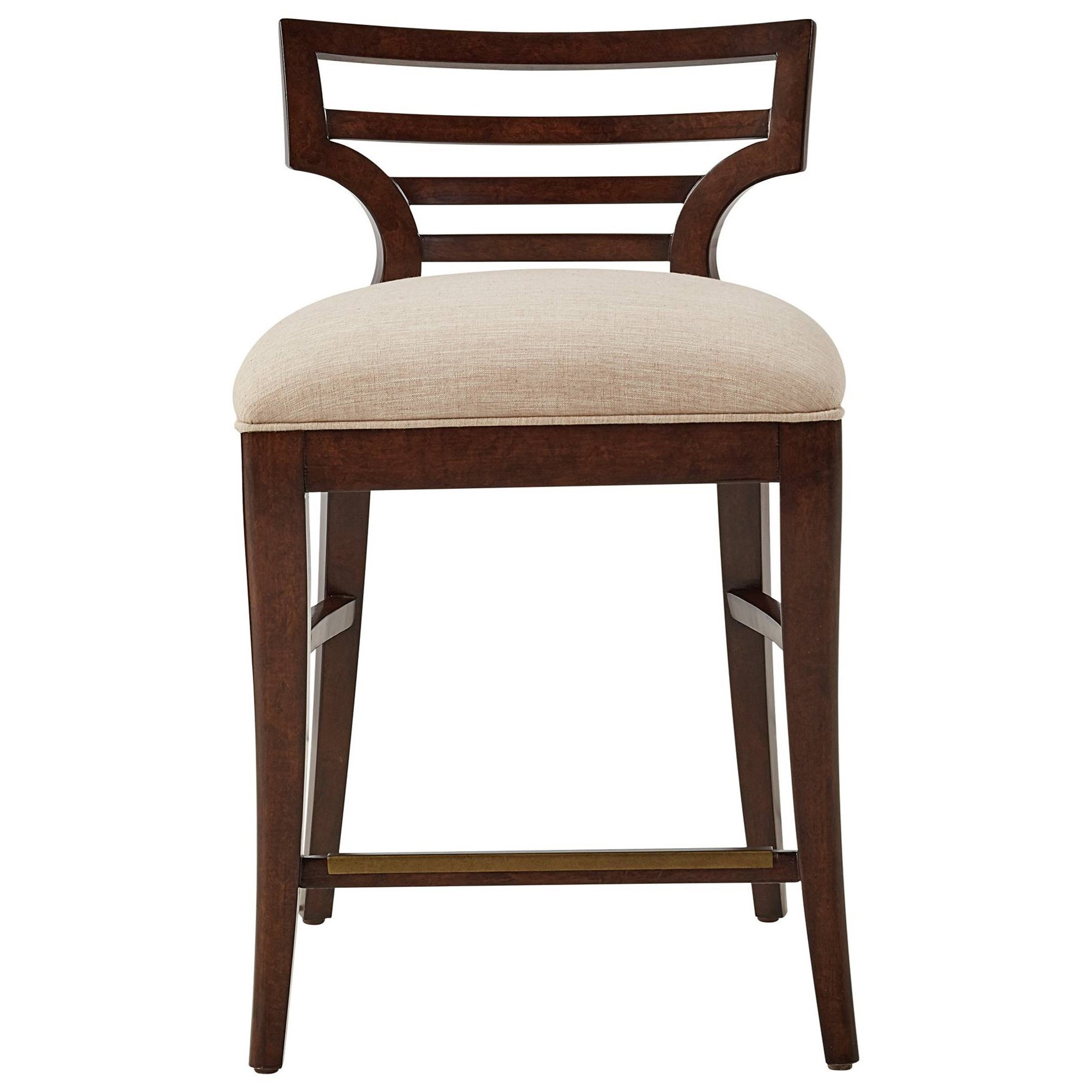 Stanley Furniture Virage Counter Stool With Upholstered Seat   Becker  Furniture World   Bar Stools