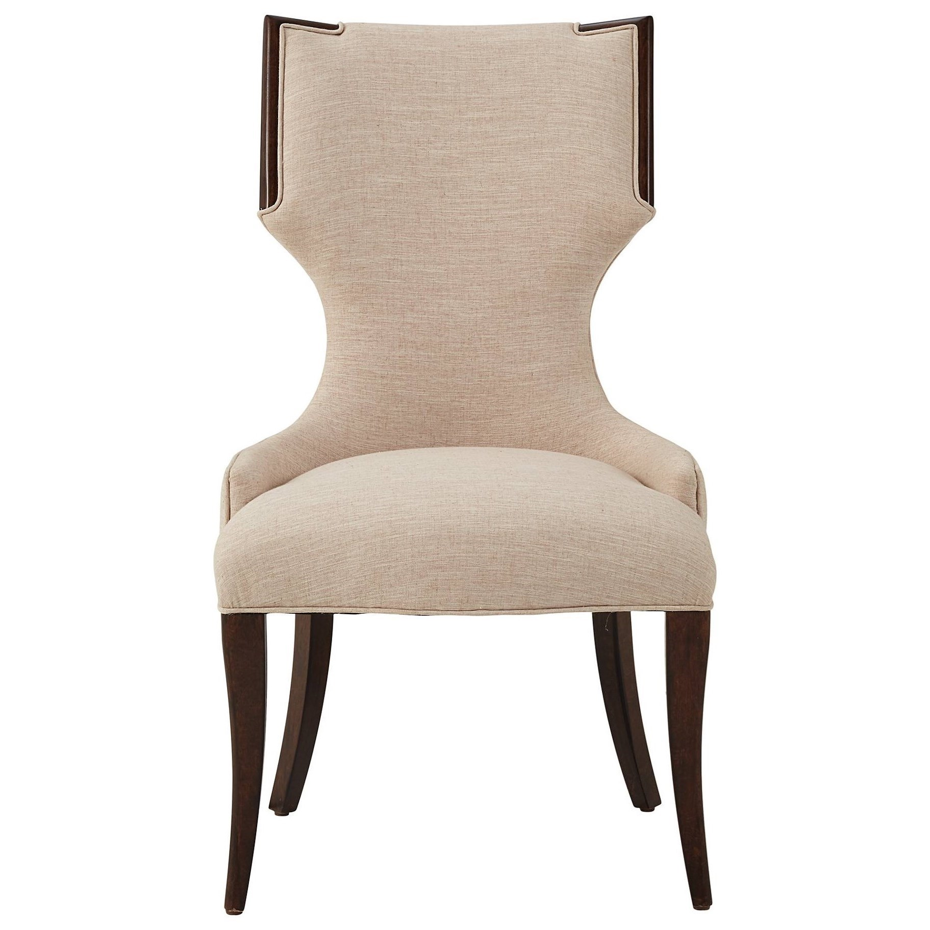 Stanley Furniture Virage Host Chair   Becker Furniture World   Dining Arm  Chairs