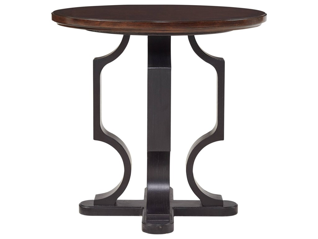 Stanley Furniture VirageRound Lamp Table
