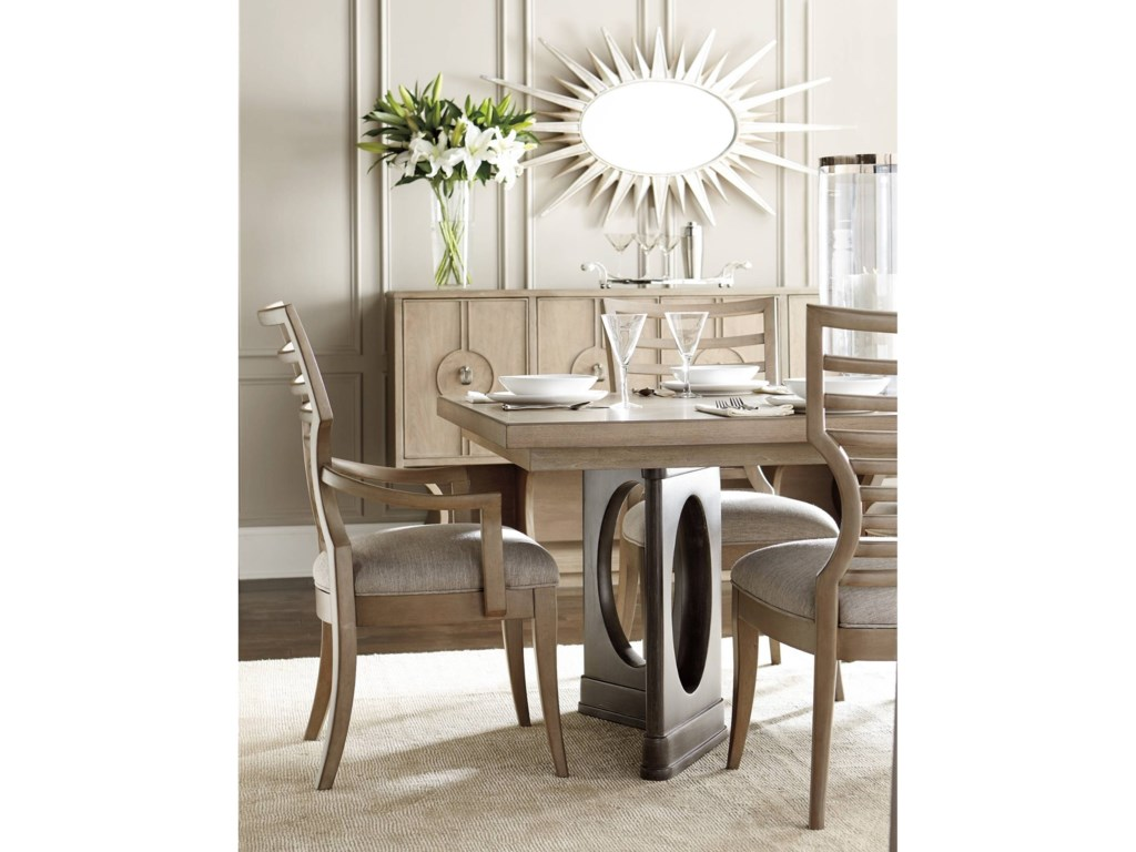 Stanley Furniture Virage Formal Dining Room Group Dunk Bright Groups