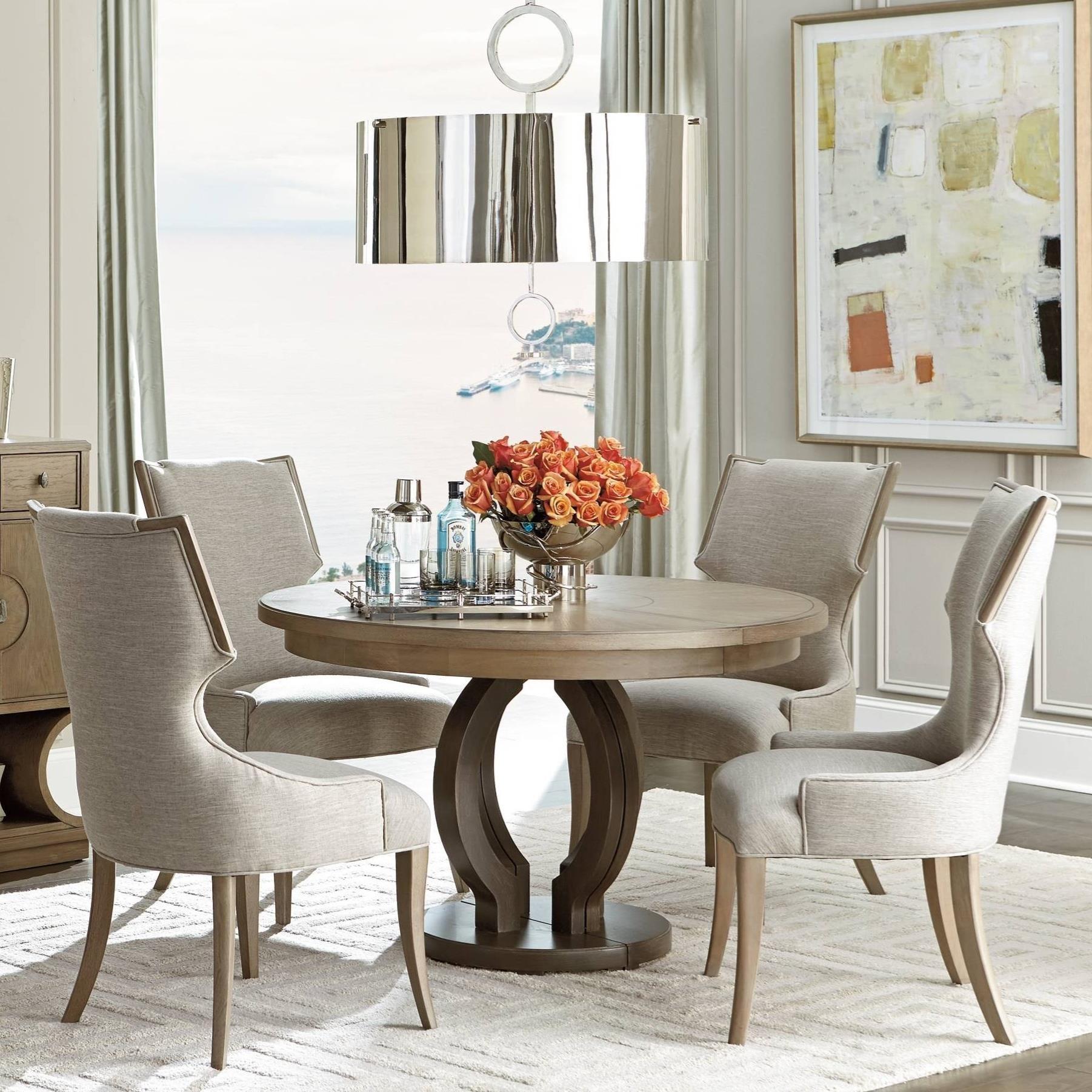 Stanley Furniture Virage5-Piece Round Dining Table Set ...  sc 1 st  Belfort Furniture & Stanley Furniture Virage 5-Piece Round Dining Table Set | Belfort ...