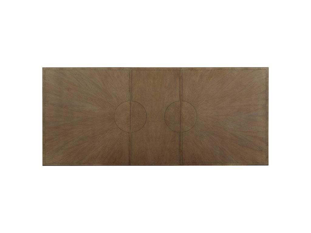 Stanley Furniture Virage9-Piece Double Pedestal Dining Table Set