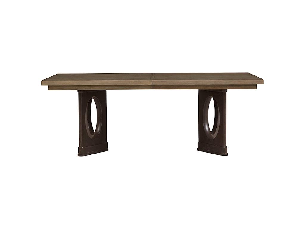 Stanley Furniture VirageDouble Pedestal Dining Table