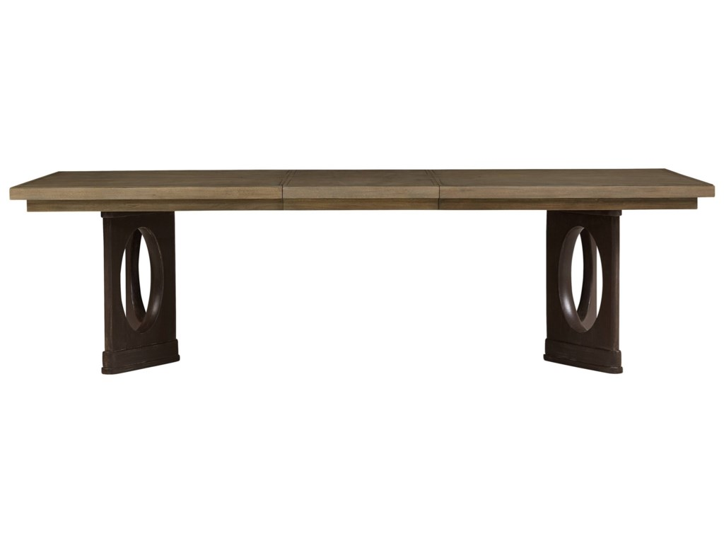 Stanley Furniture VirageDouble Pedestal Dining Table