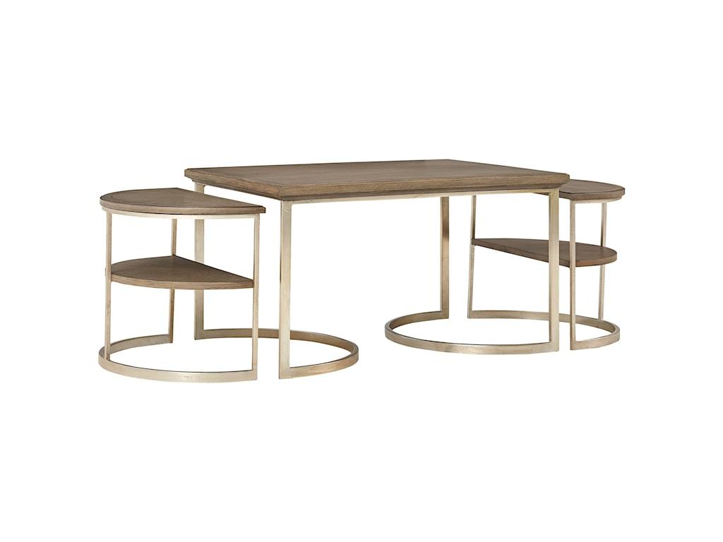 Stanley Furniture VirageBunching Cocktail Table Set