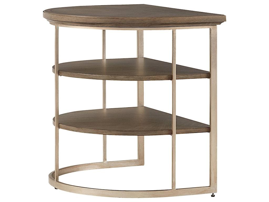 Stanley Furniture VirageDemilune End Table