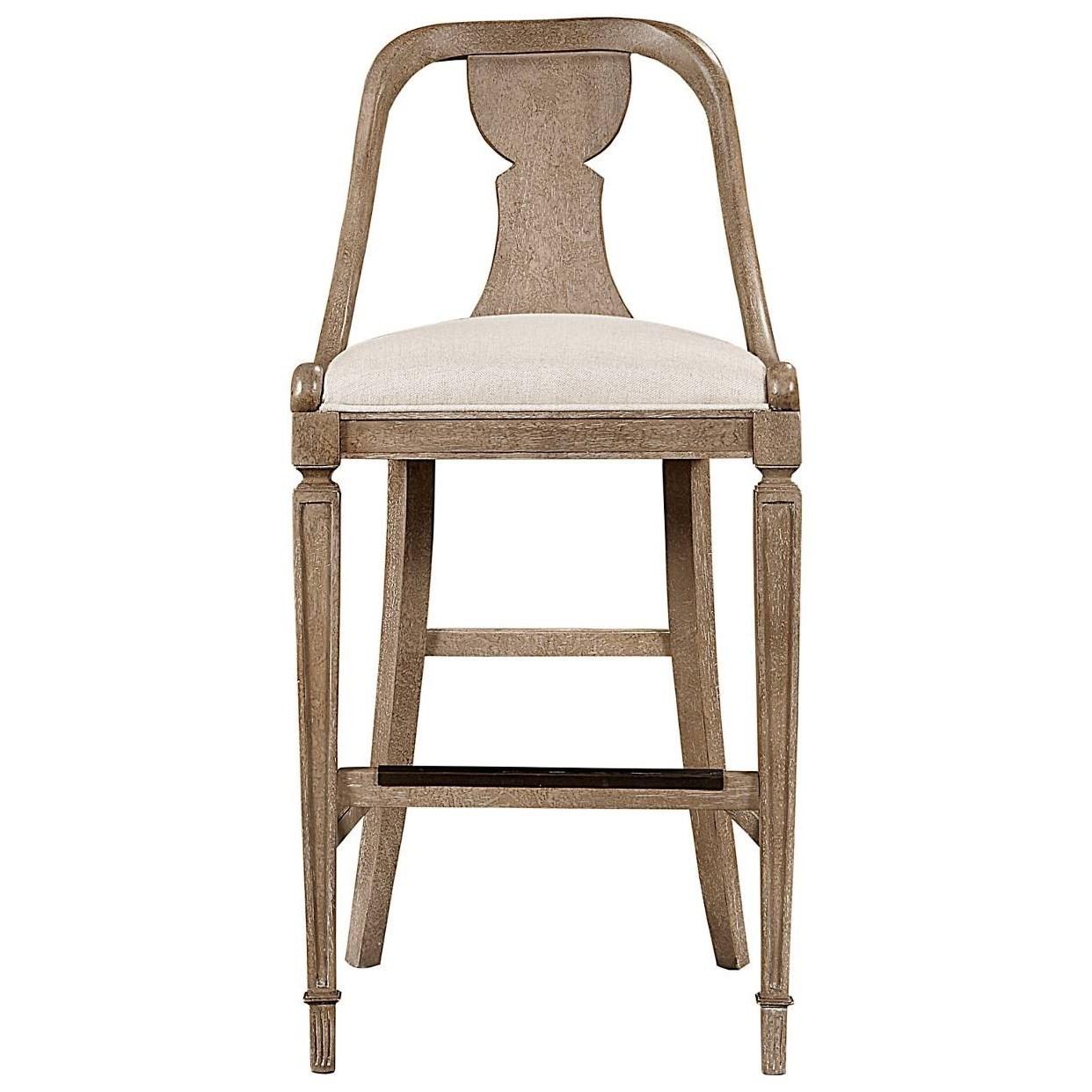Beau ... Furniture Wethersfield Estate Barstool. Stanley Furniture Wethersfield  EstateBarstool ...