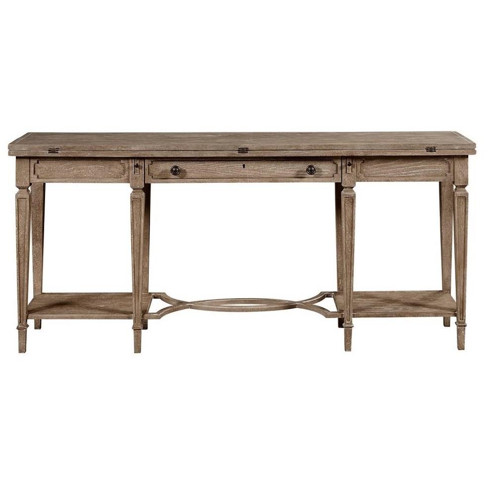 Stanley Furniture Wethersfield EstateFlip Top Table ...