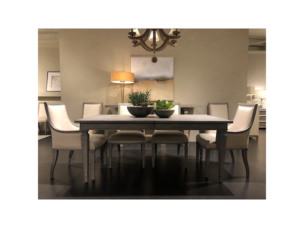 Stanley Furniture Willow 821 E1 36 72 Rectangular Dining