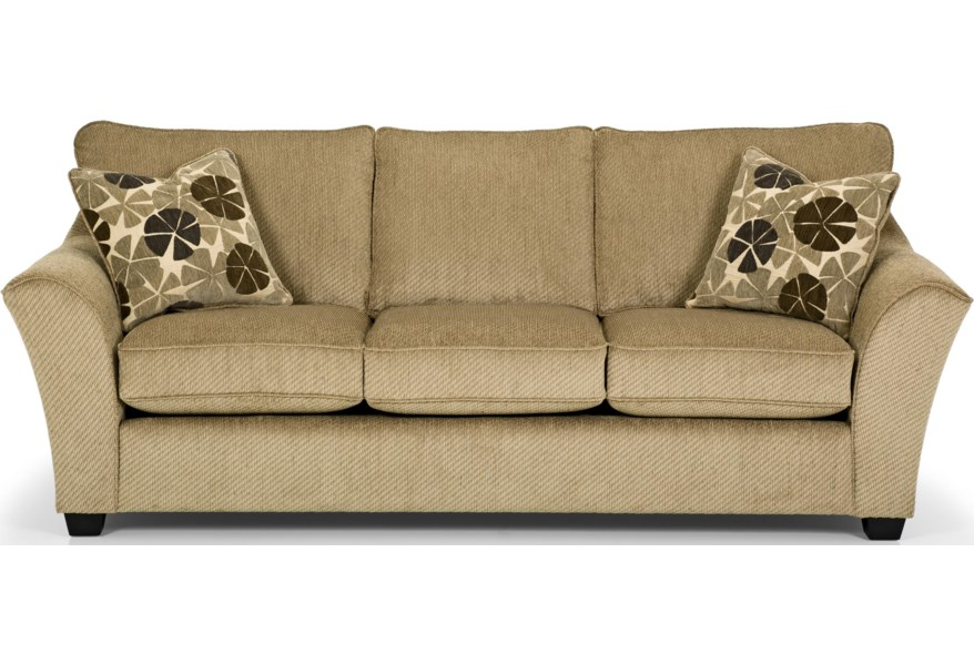 Super Stanton 112 Contemporary Basic Sleeper Sofa With Flared Arms Evergreenethics Interior Chair Design Evergreenethicsorg