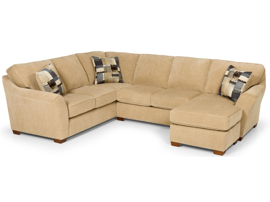 Stanton 112L Shaped Sectional