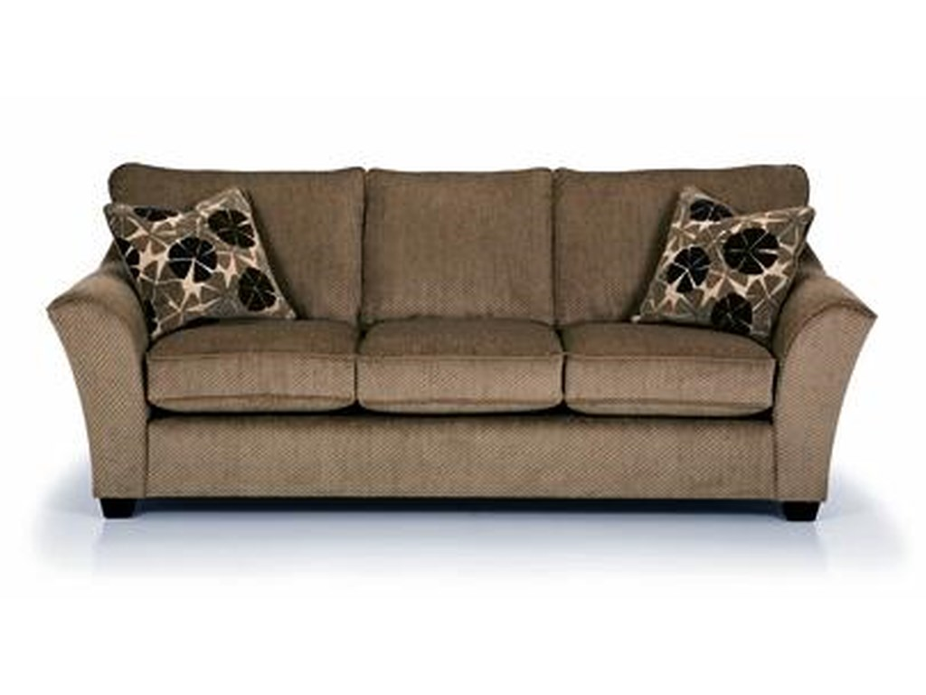 Sunset Home 112 Starmount Pistachio3-Seater Stationary Sofa