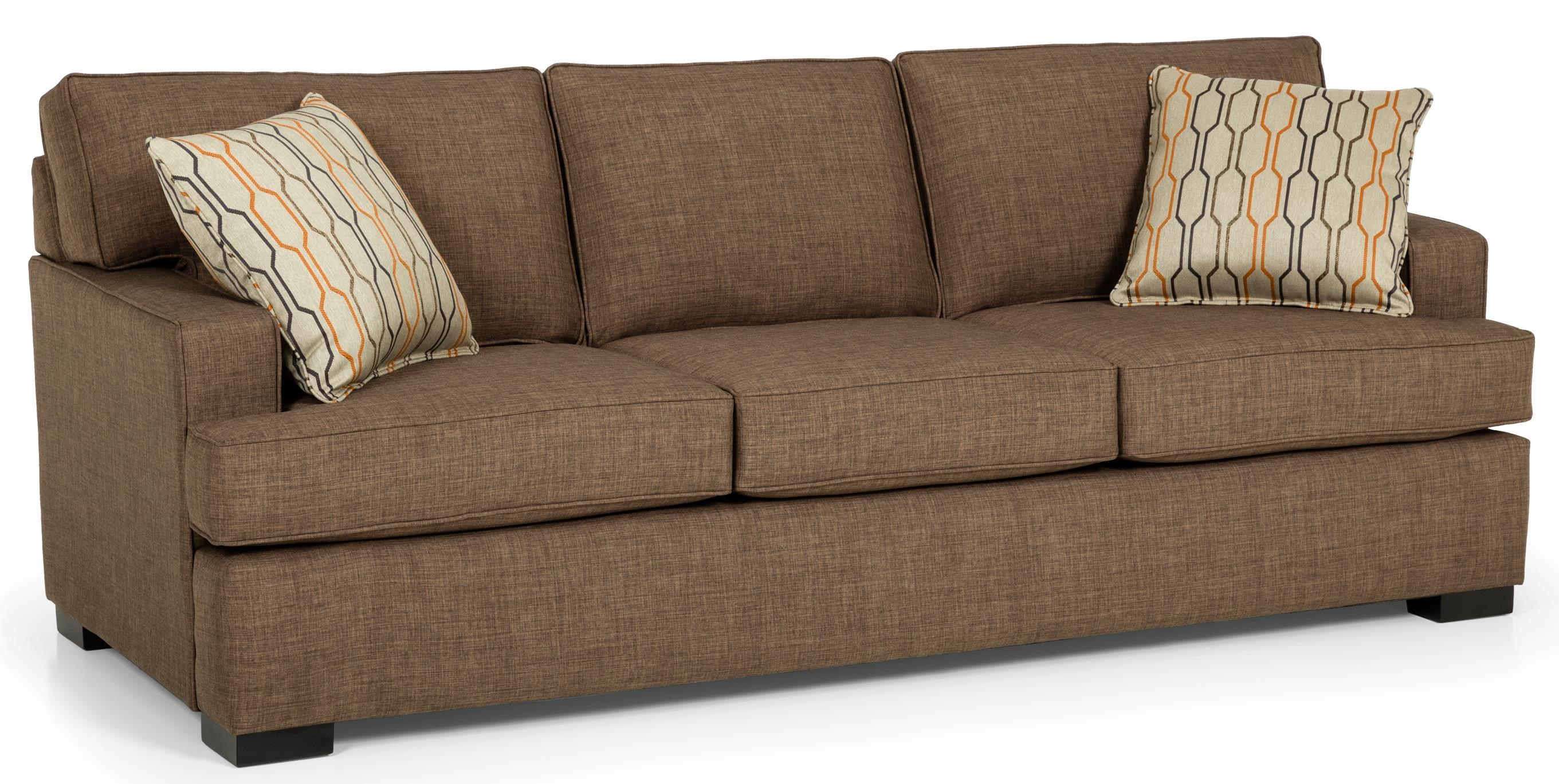 Sunset Home 146 Contemporary Gel Sleeper Sofa With Track