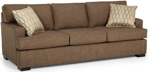 Stanton 146 Contemporary Sofa with Track Arms
