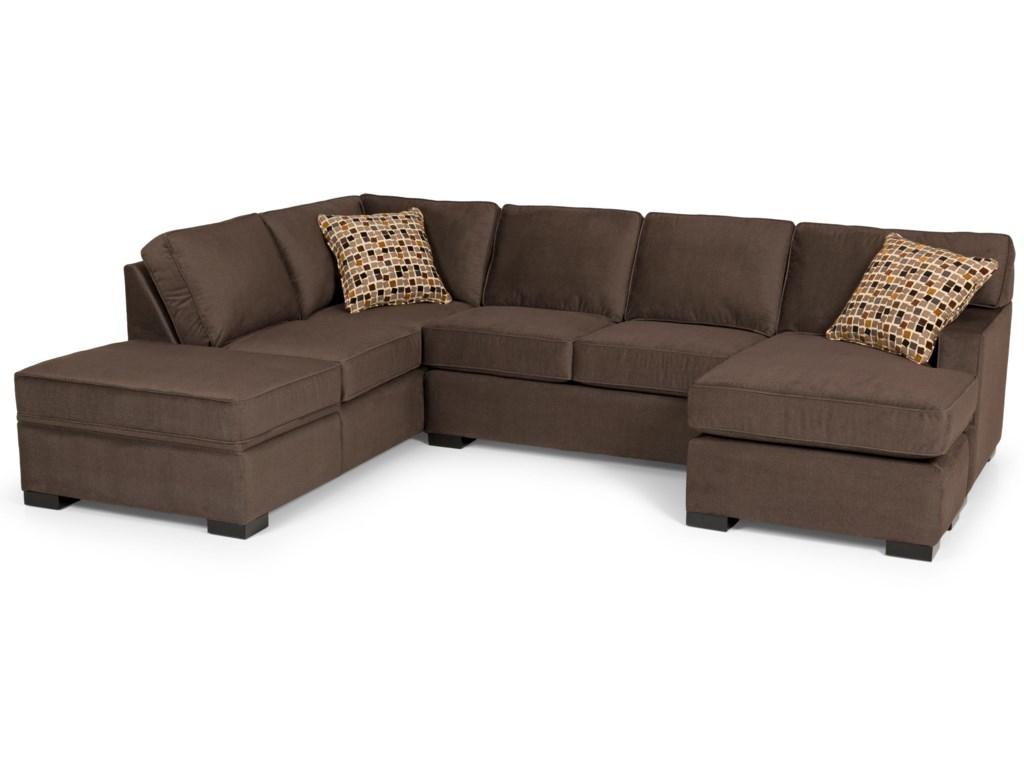 Sunset Home 146Sectional Sofa