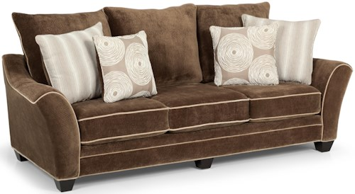 Stanton 156 Contemporary Scattered-Back Sofa