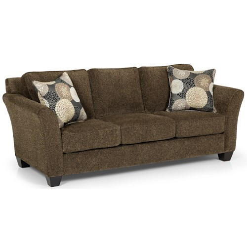 Stanton 184 Contemporary Basic Sleeper Sofa with Flared Arms