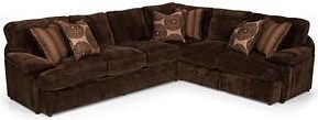 Stanton 186 Two-Piece Sectional with RSF Tux Sofa