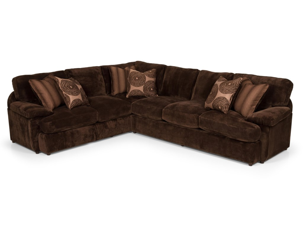 Sunset Home 1862 Pc Sectional Sofa w/ RAF Loveseat