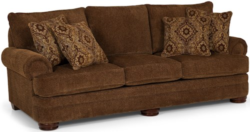 Stanton 213 Traditional Sofa with Rolled Arms
