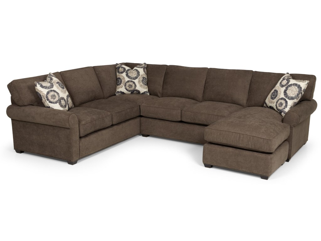 Stanton 225Transitional 2 Piece Sectional