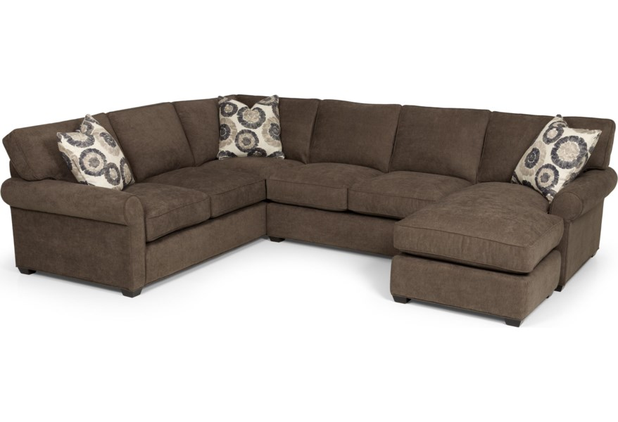 225 Transitional 2 Piece Sectional Sofa