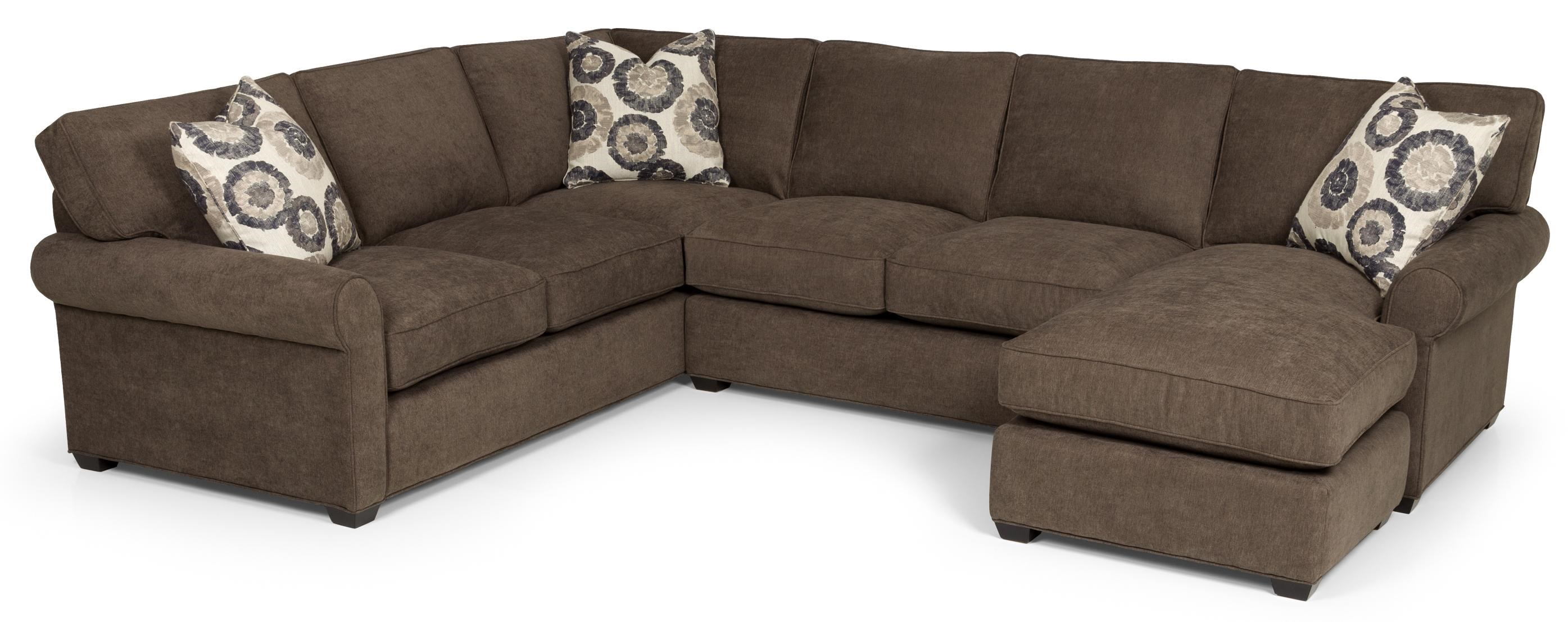 High Quality Sunset Home 225 Transitional 2 Piece Sectional Sofa With Chaise