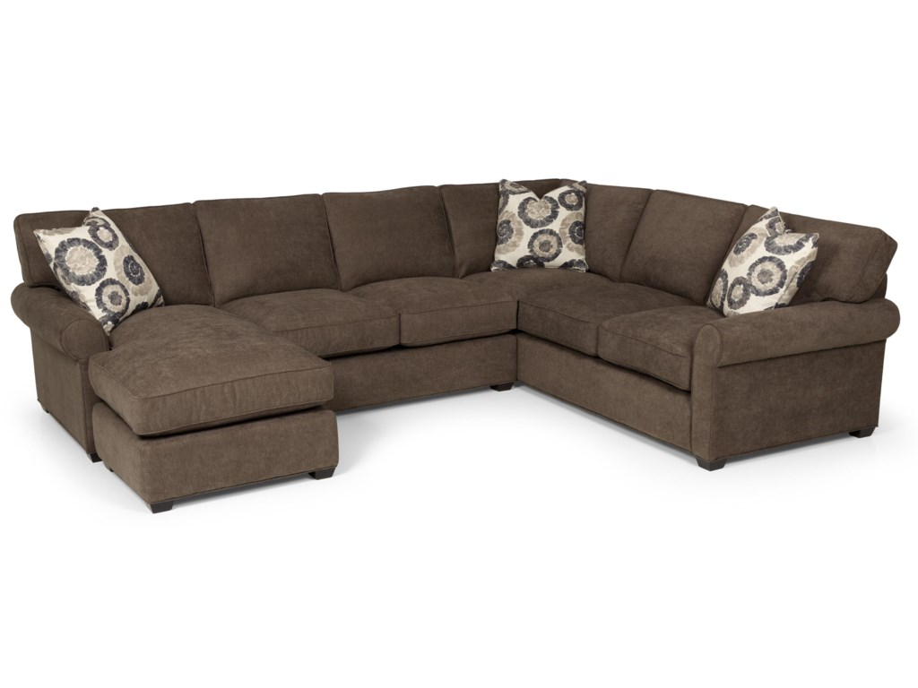 Sunset Home 225Transitional 2 Piece Sectional Sofa