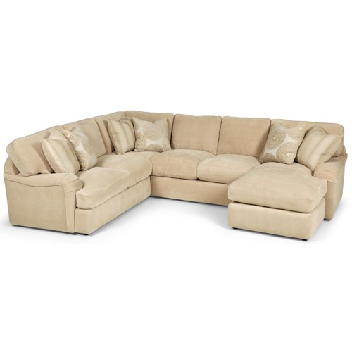 Stanton 232 Casual 2 Piece Sectional Sofa with Chaise
