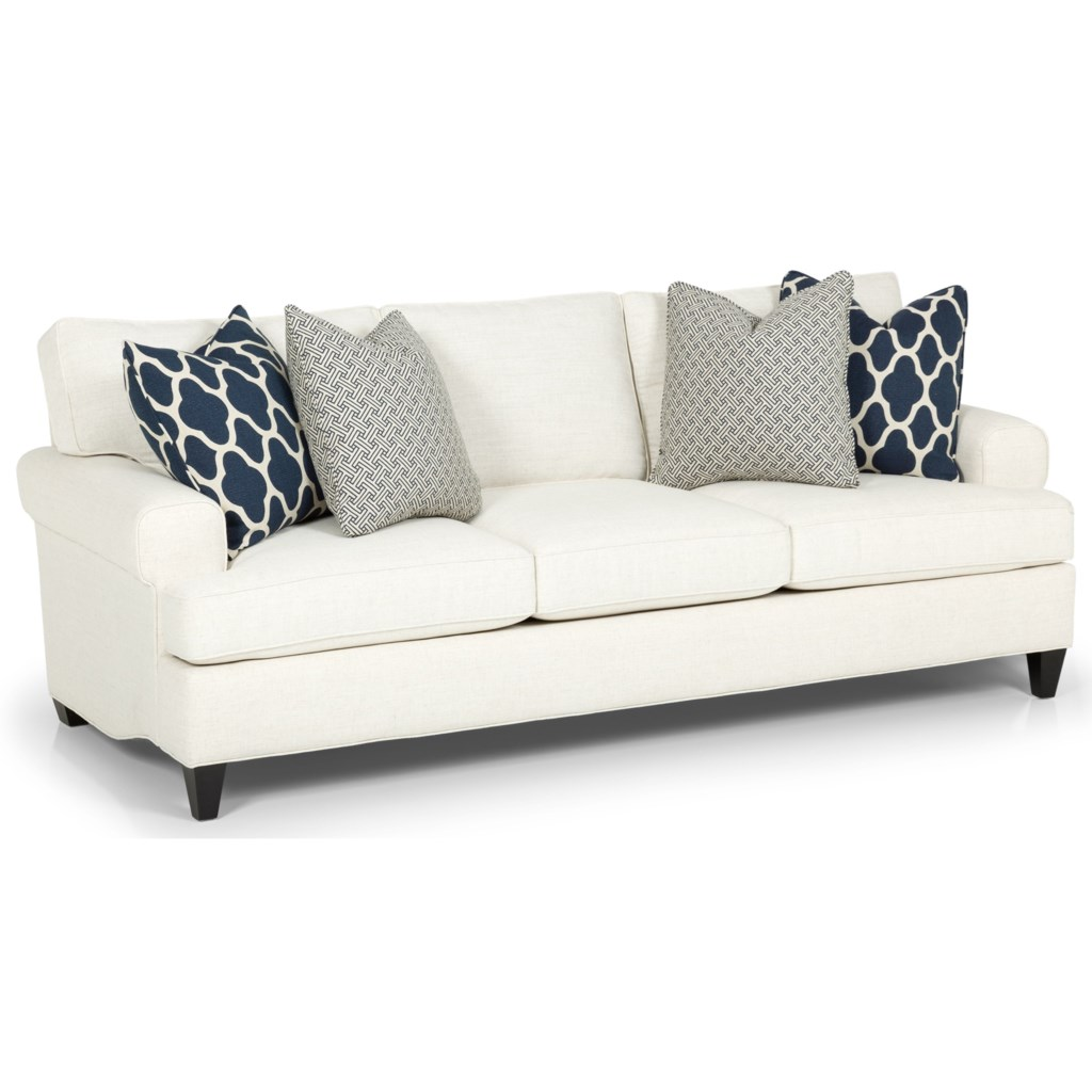 Stanton 267 Casual Sofa With Custom Fabric Options And Lifetime