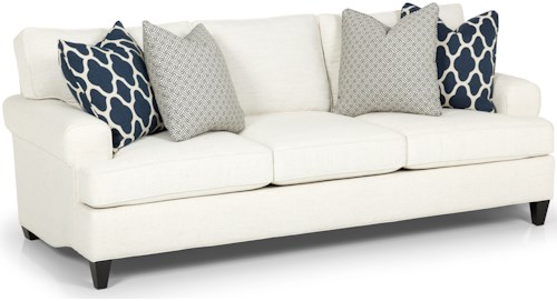 Stanton 267 Casual Sofa with Custom Fabric Options and Lifetime Warranty
