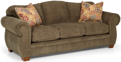 Stanton 273 Traditional Queen Gel Sleeper Sofa