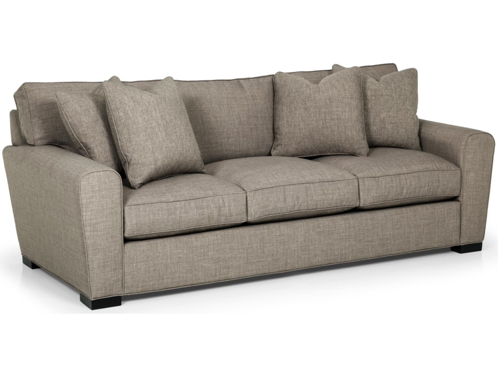 Sunset Home 282 Casual Sofa With Loose Pillow Back