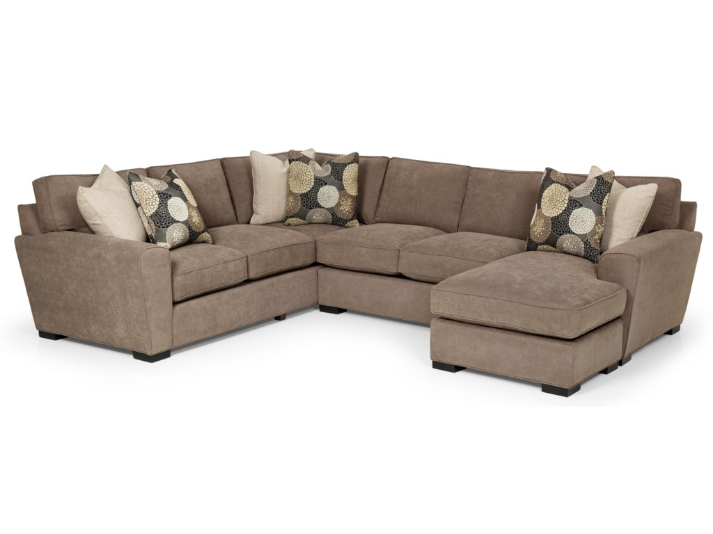Sunset Home 282Casual Sectional Sofa