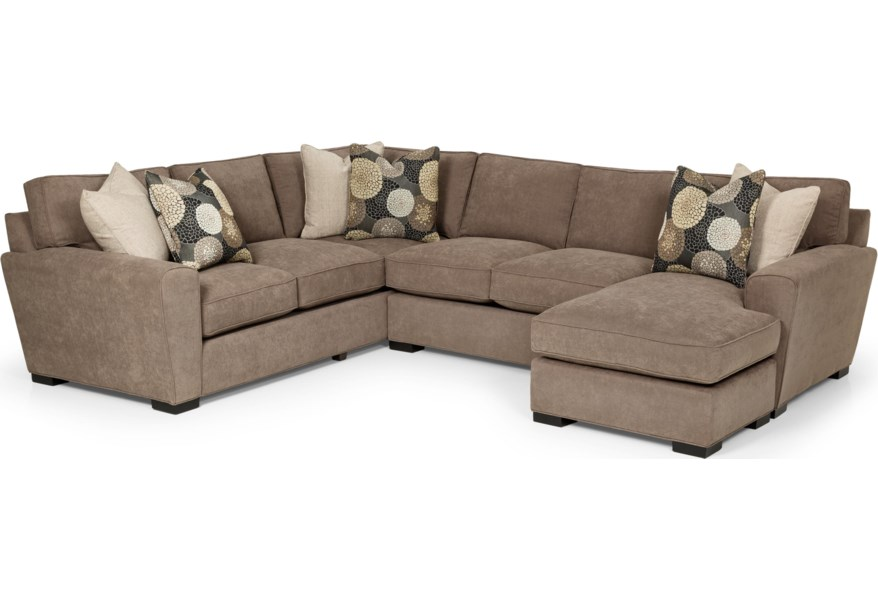 Stanton 282 Casual Sectional Sofa With