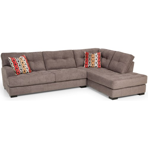 Stanton 308 Casual Two Piece Sectional Sofa