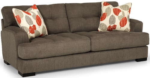 Stanton 308 Stationary Two Cushion Sofa