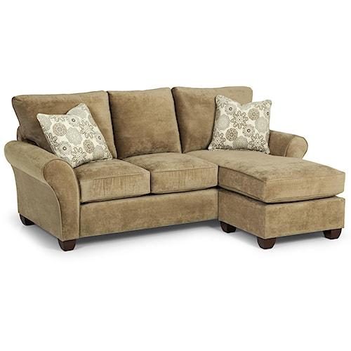 Stanton 320 Queen Basic Chaise Sofa Sleeper
