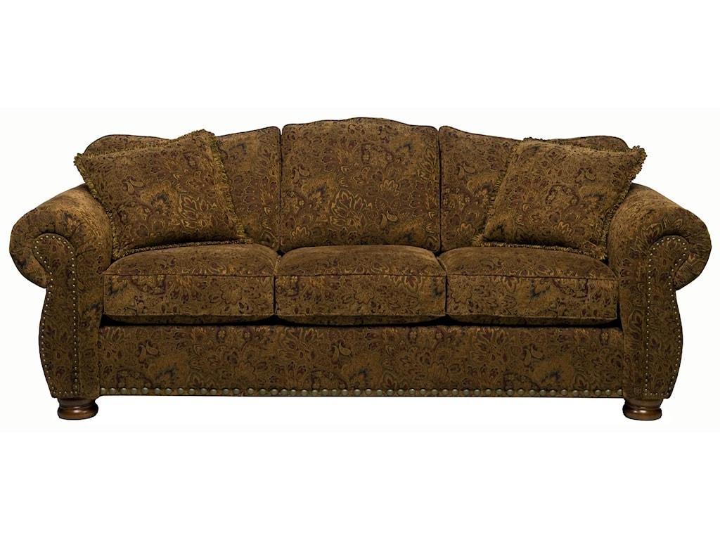 Stanton 326 Camel Back Sofa