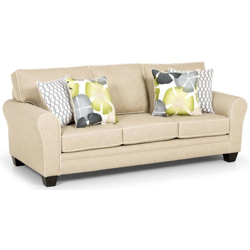 Stanton 332 Casual Sofa with Rolled Arms